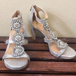 Antonio Melani silver heels